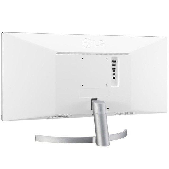 Novo Monitor Lg LED 29´ Ultrawide, Full Hd, Ips Hdmi/Dp FreeSync Som Integrado  29WK600 - Foto 4