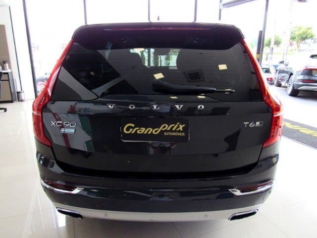 VOLVO XC90 2016 2.0 T6 GASOLINA INSCRIPTION AWD GEARTRONIC CINZA COMPLETA ÚNICO DONO! - Foto 4