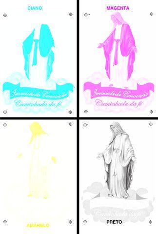 Separação de cores para serigrafia ou silk-screen - Foto 3
