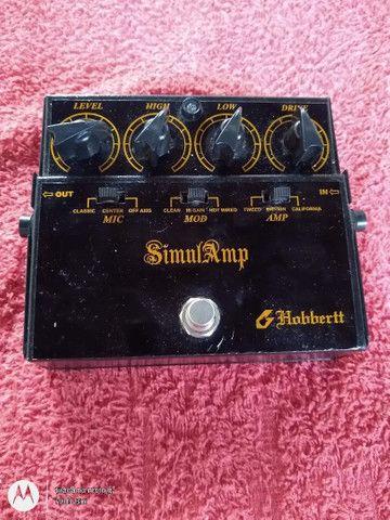 Vendo ou troco por violão,pedal SimulAmp