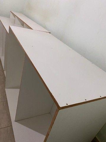 Balcão de MDF montado ( 2 médios e 1 grande) - Foto 3