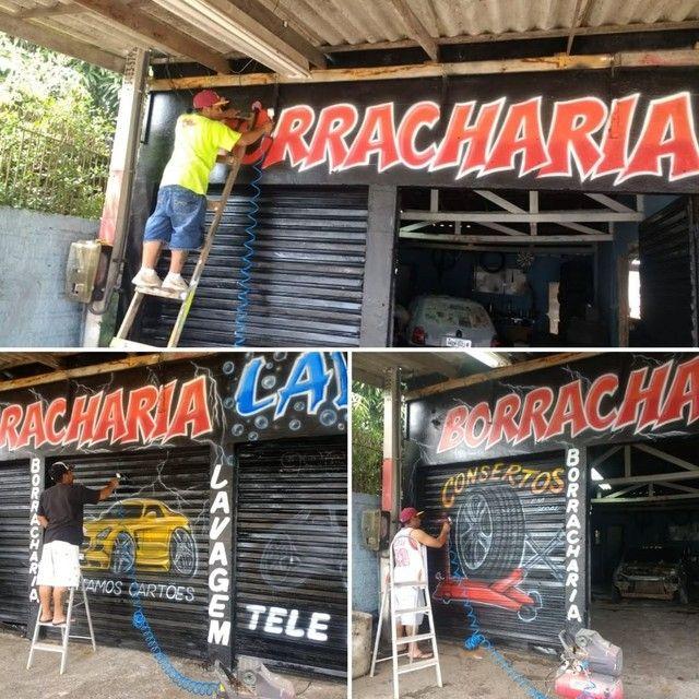 Grafitagem e letreiros - Foto 2
