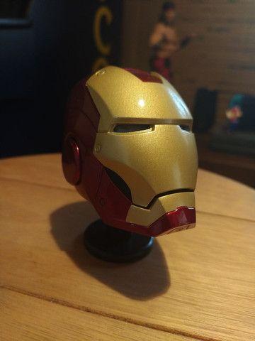 Capacete Iron man Metal Diecast. Homem de Ferro em Metal. - Foto 2