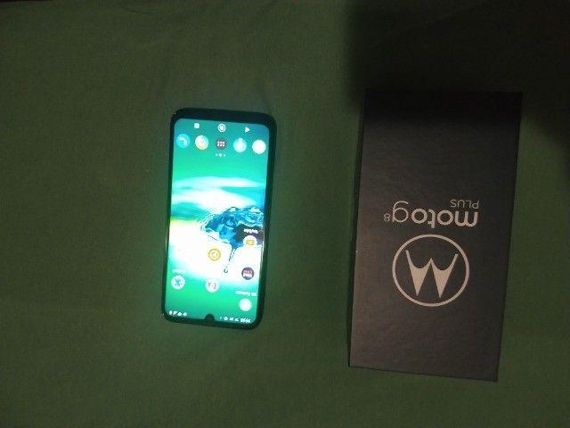 Motorola g8 plus semi novo