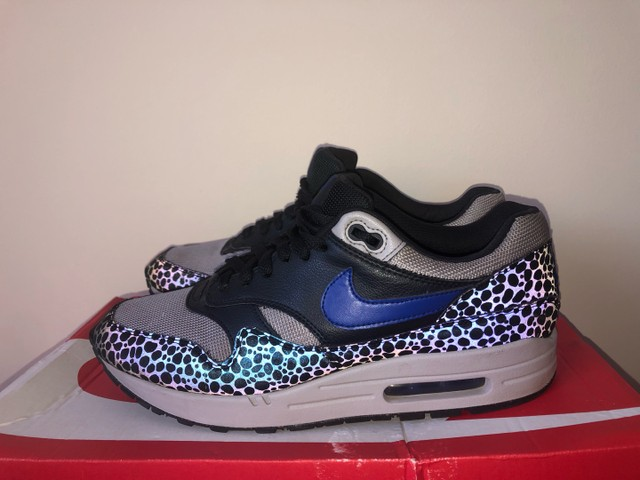 Nike air max 1 se reflective off NoirHype blue atmosphere - Foto 5