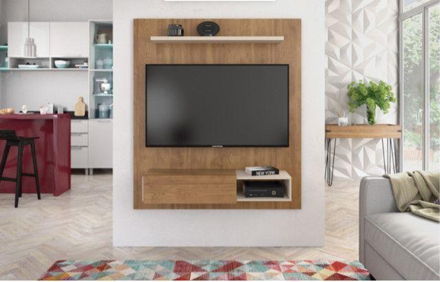Painel para sala de estar com design inovador NOVO!! *Aceitamos Picpay - Foto 3
