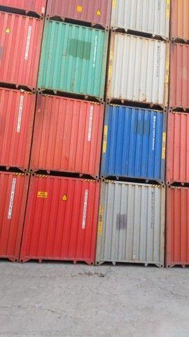 Tradição em container padrão
