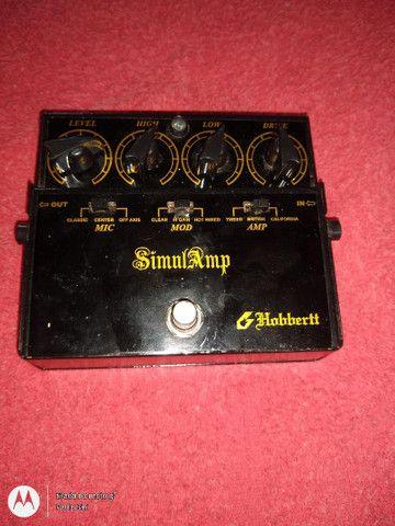 Vendo ou troco por violão,pedal SimulAmp - Foto 2