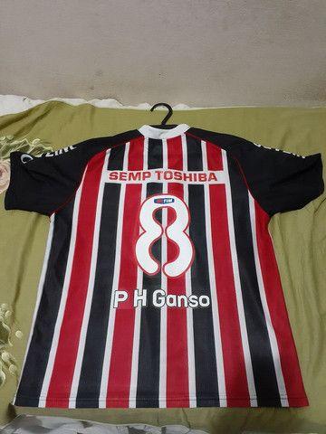 Camisa do São Paulo para venda tamanho G pequeno - Foto 2
