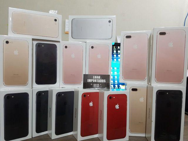 IPhone 5s, 6, 6s Plus, 7 e 7 Plus. com 1 Ano de Garantia Brasil