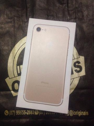 Iphone 7 de 32 gb gold novo (lacrado)