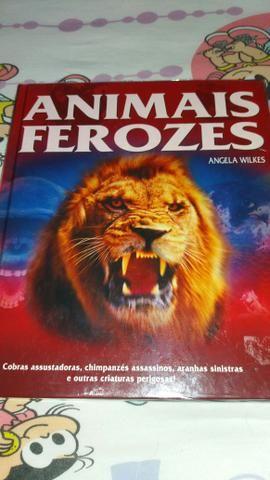 Livro Animais Ferozes