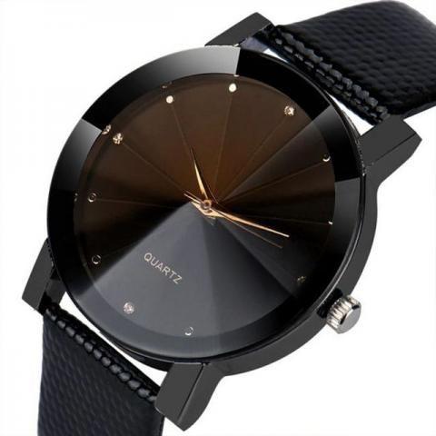 Relógio Casual Preto Masculino