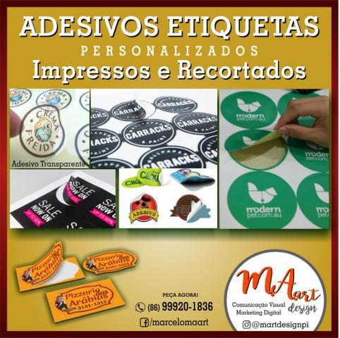 Etiquetas Escolares em Vinil Adesivo - Foto 2
