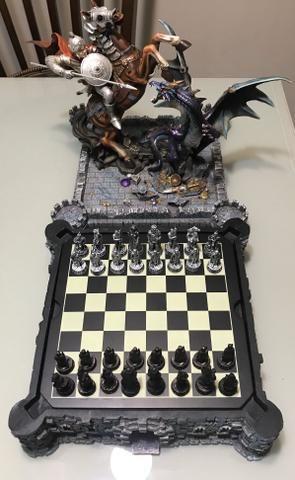 Vendo Tabuleiro de xadrez de luxo - Foto 2
