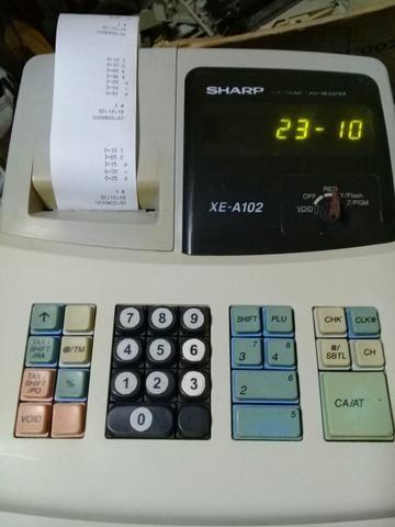 Registradora sharp xea 102 - Foto 2