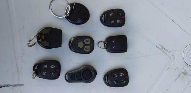 Controle de alarme de carro