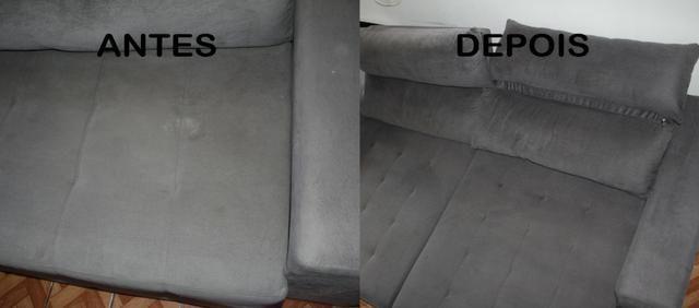 Higienização em Estofados - Foto 6