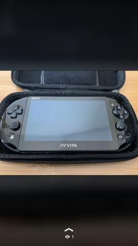 PS Vita - Debloqueado (aceito cartão)