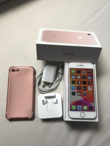 IPhone 7 32GB Rose com Caixa e Acessórios Entrego - Foto 6