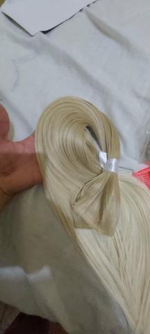 Mega hair louro da Malu - Foto 3