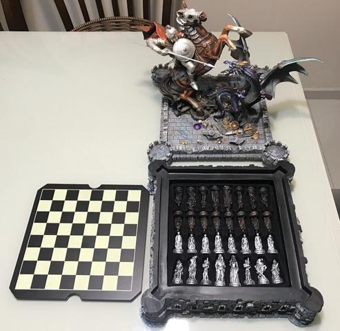 Vendo Tabuleiro de xadrez de luxo