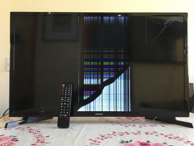 Tv Samsung smart 32 polegadas PEÇAS - Foto 4