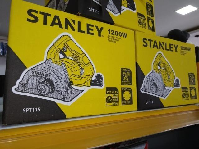 Black Friday de R$ 289,90 por R$ 230,00 - Serra Marmore 115mm 1200W 220V Stanley - Foto 5