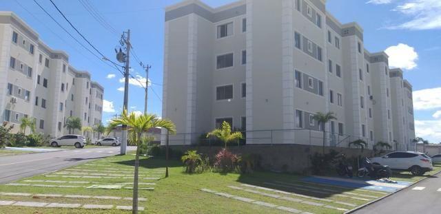 Apartamento 2/4 entrada parcelada em 72 x - 1 ano gratis de condominio - Pronto para Morar