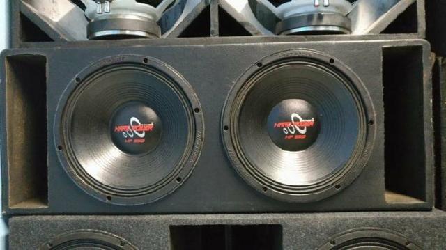2 Hard Power 550 + Corneteira e modulo para corneta