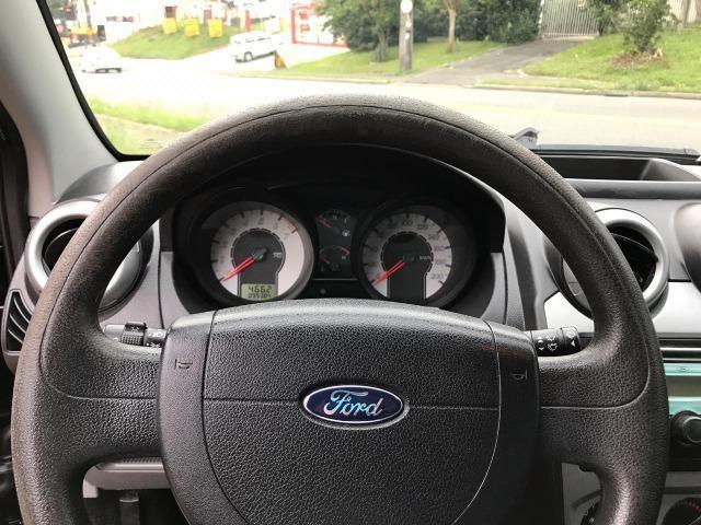 Fiesta sedan 1.6 flex completo 10/10 banco em couro - Foto 11