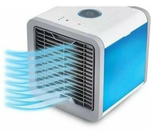 Climatizador De Ar Pessoal 3 níveis de ventilação USB