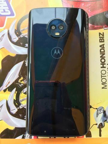 Moto G6 perfeito com nota troco j6+ sem marcas de uso - Foto 2