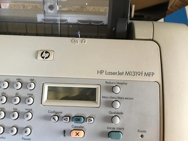 Impressora Multifuncional Laser Monocromática HP M1319 - Foto 2
