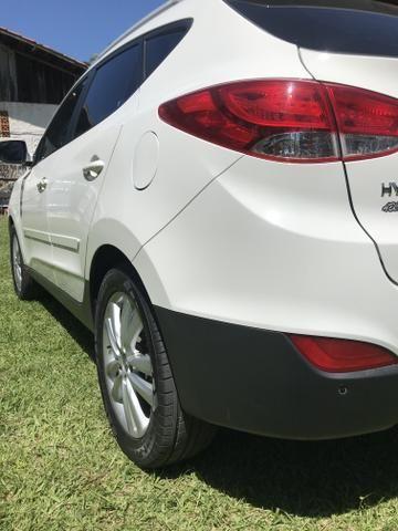 Hyundai IX 35 2015 branca Flex Aut. IMPECAVEL - Foto 8
