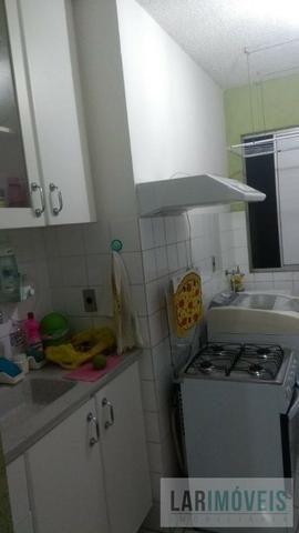 GS-Apartamento bem localizado em Valparaíso, 2 quartos climatizado sol da manha - Foto 4