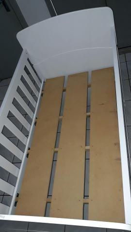 Berço americano +colchão colchão D18 ortobon novo. R$250,00