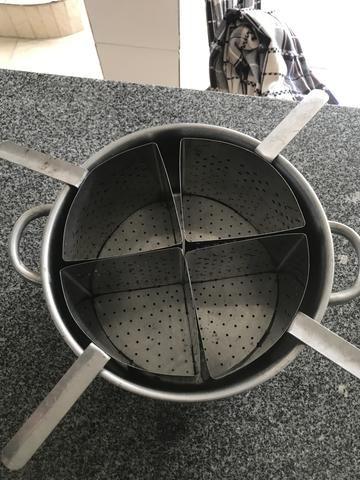 Panela inox para cozimento de macarrão - Foto 2