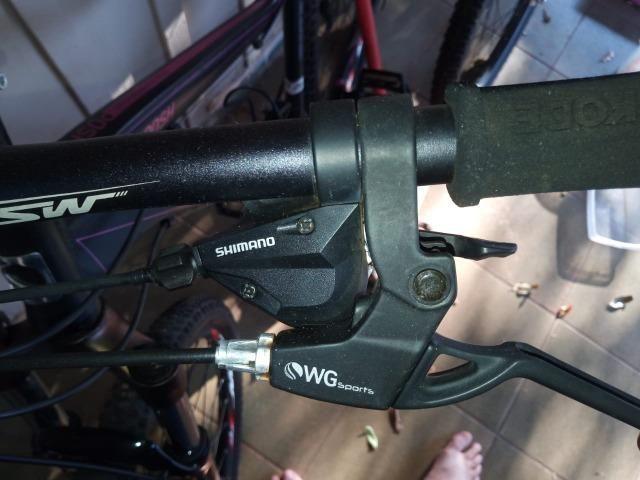Bicicleta TSW. Aro 29. 24 marchas. Freio a disco - Foto 5
