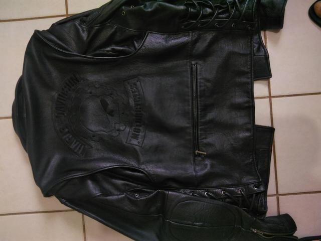 Jaqueta de couro Harley Davidson - Foto 4