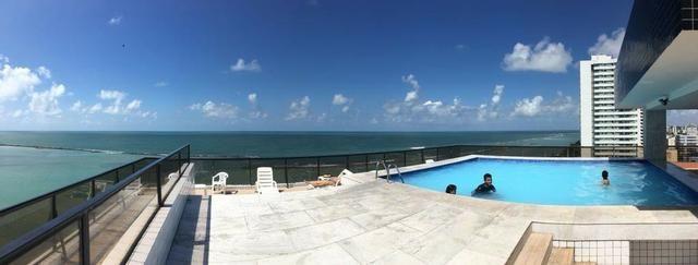 Lindo!! Flat a Beira mar de Casa Caiada com moveis planejados e 2 vagas de garagem - Foto 13