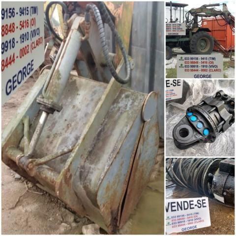Unha hidraulica,que abre e fecha,para pegar areia brita carvão,ou o que quizer - Foto 4