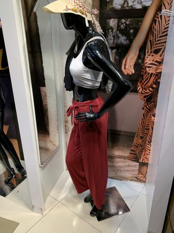 Calça pantalona 3 por R$79,90 a vista