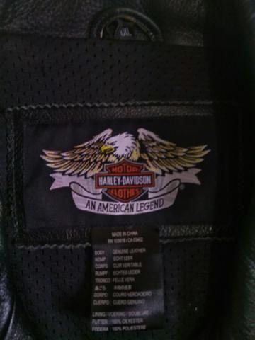 Jaqueta de couro Harley Davidson - Foto 2