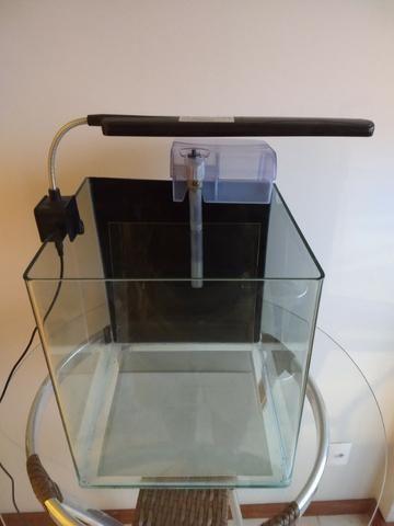 Aquário Rehau Cubo 31litros - Completo (Filtro + Iluminação) - Foto 3