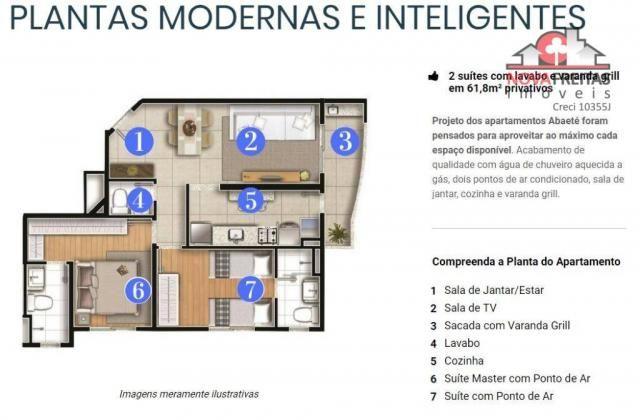 Apartamento à venda com 2 dormitórios em Parque industrial, São josé dos campos cod:AP3174 - Foto 5