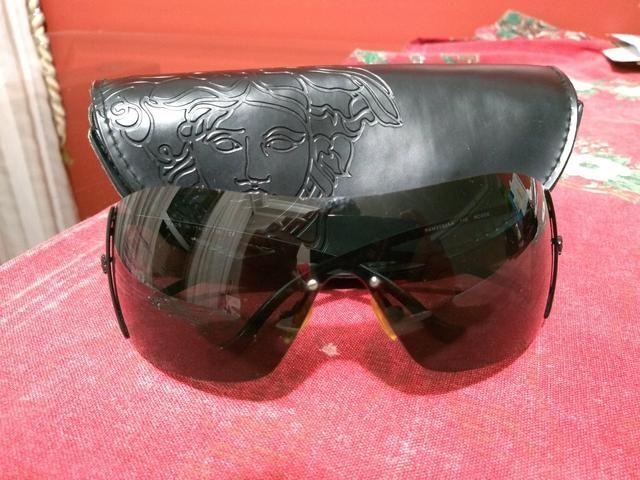 Óculos de Sol máscara Versace unissex - Bijouterias, relógios e ... 4a9051d21a