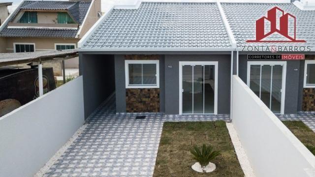 Casa à venda com 3 dormitórios em Nações, Fazenda rio grande cod:CA00058 - Foto 5