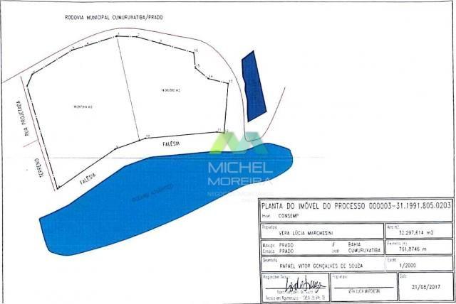 Terreno de 14.000m² - frente para o mar - cumuruxatiba - bahia - Foto 16