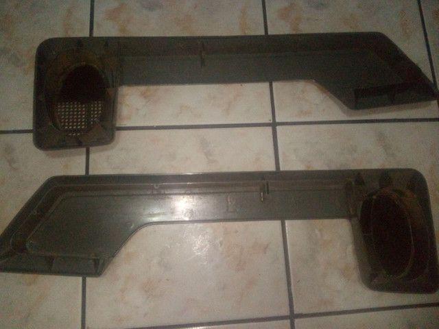 Porta treco+puxadores interno Santana quadrado 4 portas